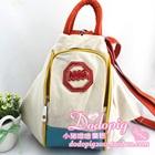 กระเป๋าเป้แฟชั่นสะพายหลัง-สีครีม-(5-ใบ/pack)