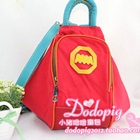 กระเป๋าเป้แฟชั่นสะพายหลัง-สีแดง-(5-ใบ/pack)