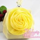 กระเป๋าแฟชั่นดอกกุหลาบ-สีเหลือง-(5-ใบ/pack)