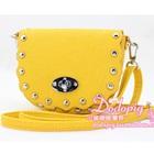กระเป๋าสะพายข้างประดับหมุด-สีเหลือง-(5-ใบ/pack)