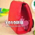 กระเป๋าสะพายข้างโบว์ใหญ่-สีแดง-(5-ใบ/pack)