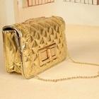 กระเป๋าสะพายข้างออกงาน-สีทอง-(5-ใบ/pack)