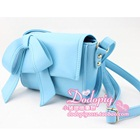 กระเป๋าสะพายนางฟ้า-สีฟ้า-(5-ใบ/pack)