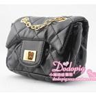 กระเป๋าสะพายออกงาน-สีดำ-(5-ใบ/pack)