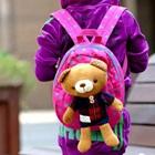 กระเป๋าเป้หมีน้อย-สีชมพู-(5-ใบ/pack)