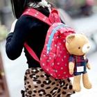 กระเป๋าเป้หมีน้อย-สีแดง-(5-ใบ/pack)