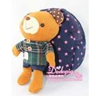 กระเป๋าเป้หมีน้อย-สีน้ำเงิน-(5-ใบ/pack)