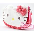 กระเป๋าถือ-Hello-Kitty-สีแดงแตงโม-(5-ใบ/pack)