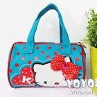 กระเป๋าถือแฟชั่น-Hello-Kitty-สีฟ้า-(5-ใบ/pack)