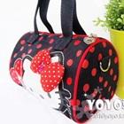 กระเป๋าถือแฟชั่น-Hello-Kitty-สีดำ-(5-ใบ/pack)