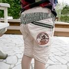 กางเกงขาสามส่วน--สีครีม-(5-ตัว/pack)