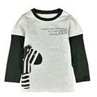 เสื้อแขนยาว-Zebra-สีเทา-(5-ตัว/pack)