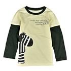 เสื้อแขนยาว-Zebra-สีครีม-(5-ตัว/pack)