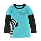 เสื้อแขนยาว-Zebra-สีฟ้า-(5-ตัว/pack)