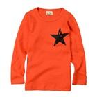 เสื้อแขนยาว-The-Star-สีส้ม-(5-ตัว/pack)