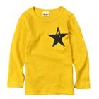 เสื้อแขนยาว-The-Star-สีเหลืองเข้ม-(5-ตัว/pack)