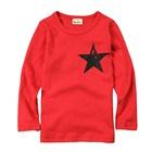 เสื้อแขนยาว-The-Star-สีแดงแตงโม-(5-ตัว/pack)