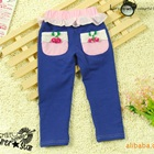 กางเกงขายาวเชอรี่-สีน้ำเงิน--(5-ตัว/pack)