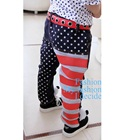 กางเกงขายาวธงชาติอเมริกา-สีน้ำเงิน-(6-ตัว/pack)