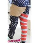 กางเกงขายาวธงชาติอเมริกา-สีกากี-(6-ตัว/pack)