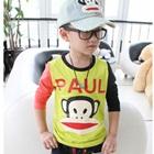 เสื้อแขนยาว-Frank-Paul-แขนสีดำแดง-(5-ตัว/pack)