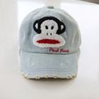 หมวกแก้ป-Paul-Frank-สีเทา-(5-ใบ/แพ็ค)