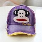 หมวกแก้ป-Paul-Frank-สีม่วง-(5-ใบ/แพ็ค)