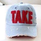 หมวกแก้ป-Take-สีแดง-(5-ใบ/แพ็ค)