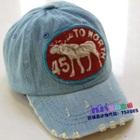 หมวกแก้ป-To-North-45-สีฟ้า-(5-ใบ/แพ็ค)