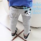 กางเกงขายาวหมีแพนด้า-สีเทา-(5-ตัว/pack)