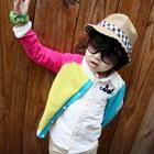 คาร์ดิแกนแขนยาว-แขนสีชมพู--(4-ตัว/pack)