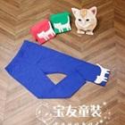 กางเกงเลกกิ้งแมวเหมียว-สีน้ำเงิน-(5-ตัว-/pack)