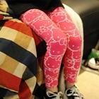 กางเกงเลกกิ้ง-Hello-Kitty-สีชมพู-(5-ตัว-/pack)