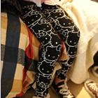กางเกงเลกกิ้ง-Hello-Kitty-สีดำ-(5-ตัว-/pack)