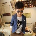 เสื้อสูทหนุ่มออฟฟิศ-สีน้ำเงิน-(5-ตัว/pack)