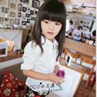 เสื้อเชิ๊ตแขนยาวสาวออฟฟิศ-สีขาว-(5size/pack)