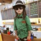 เสื้อเชิ๊ตแขนยาวสาวออฟฟิศ-สีเขียว-(5size/pack)