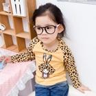 เสื้อแขนยาวกระต่ายน้อยน่ารัก-สีเหลือง-(5size/pack)