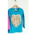 เสื้อแขนยาว-Love-Tassels-สีฟ้า-(5size/pack)