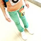 กางเกงขายาวตุ๊กตา-สีเขียว-(5-ตัว/pack)
