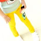 กางเกงขายาวตุ๊กตา-สีเหลือง-(5-ตัว/pack)