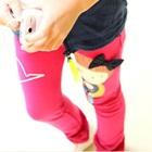 กางเกงขายาวตุ๊กตา-สีชมพู-(5-ตัว/pack)