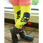 กางเกงเลกกิ้งหัวกะโหลก-สีเหลือง-(5-ตัว-/pack)
