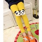 กางเกงเลกกิ้งหมีแพนด้า-สีเหลือง-(5-ตัว-/pack)