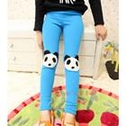 กางเกงเลกกิ้งหมีแพนด้า-สีฟ้า-(5-ตัว-/pack)