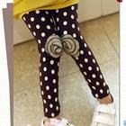 กางเกงเลกกิ้งดอกกุหลาบ-สีน้ำตาล-(5-ตัว-/pack)