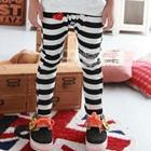 กางเกงขายาวลายขวาง-สีดำ-(5-ตัว/pack)