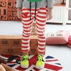 กางเกงขายาวลายขวาง-สีแดง-(5-ตัว/pack)