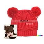 หมวกนิตติ้งกันหนาว-สีแดง-(5-ใบ/แพ็ค)