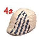 หมวกไร้ปีกหมีน้อย-สีเบจ-(5-ใบ/แพ็ค)